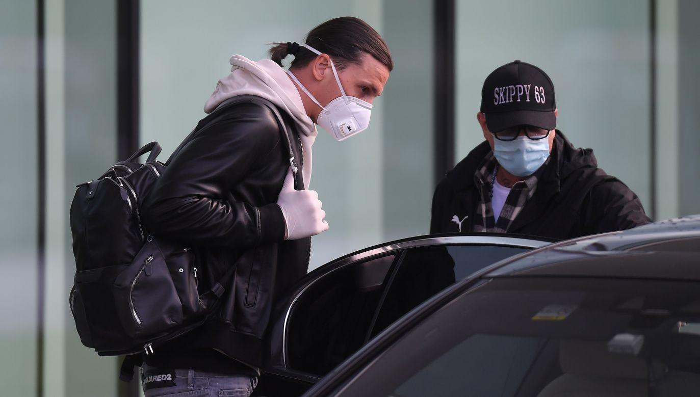 Występujący w AC Milan Zlatan Ibrahimović ma od jutra rozpocząć treningi razem z resztą drużyny (fot. D. Mascolo/Reuters)