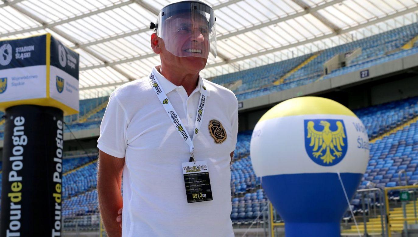 Dyrektor Tour de Pologne Czesław Lang (fot. PAP)