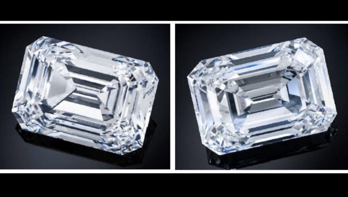 Jest całkowicie bezbarwny, może osiągnąć cenę od 12 do 18 milionów franków szwajcarskich (fot. Christie's)