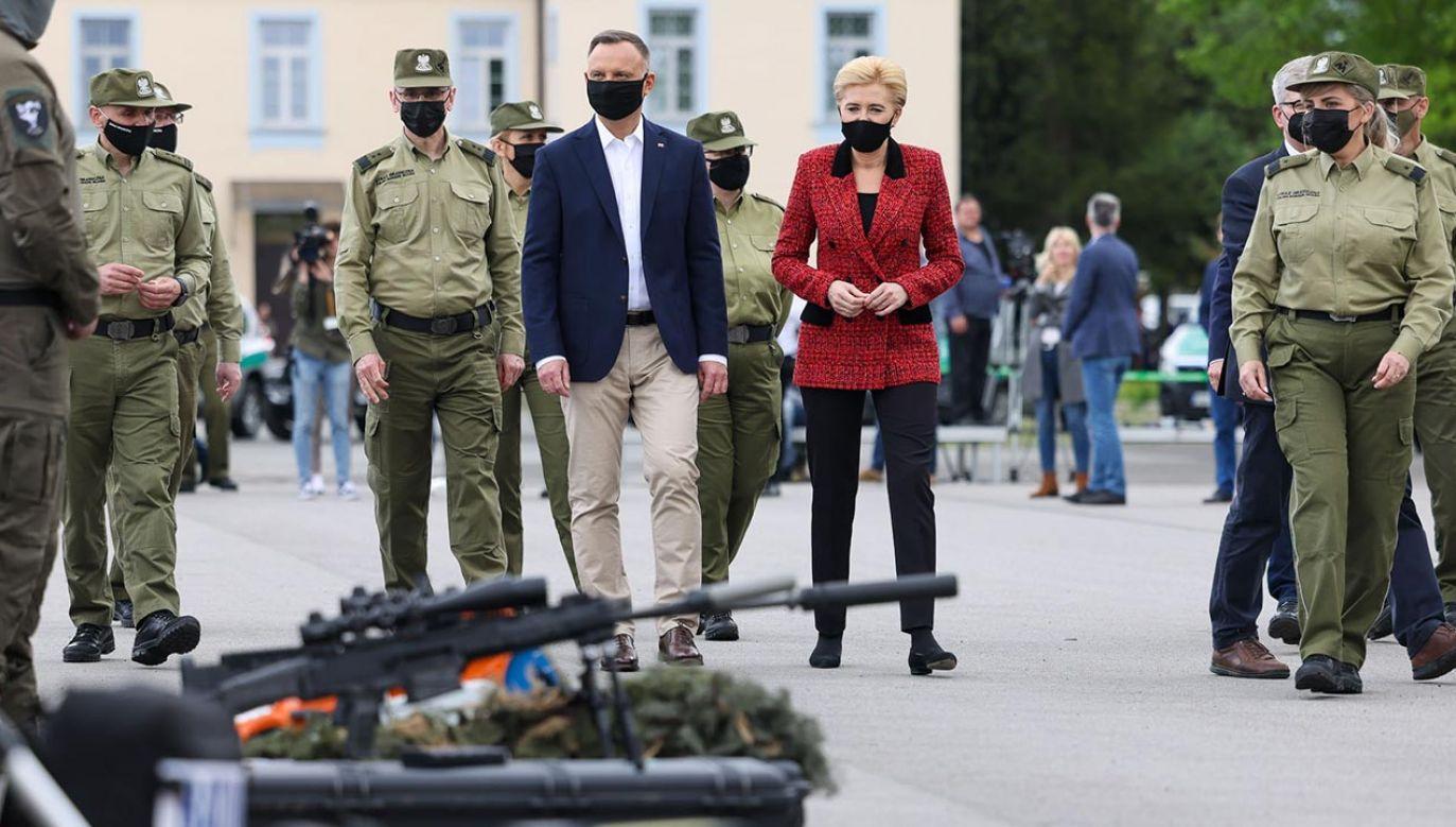 Prezydent Andrzej Duda w Nowym Sączu (fot. Grzegorz Jakubowski/KPRP)