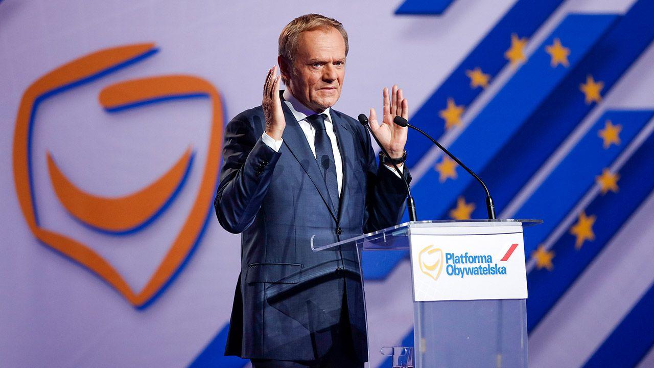 Donald Tusk (fot. Forum/ Dudek Jerzy)