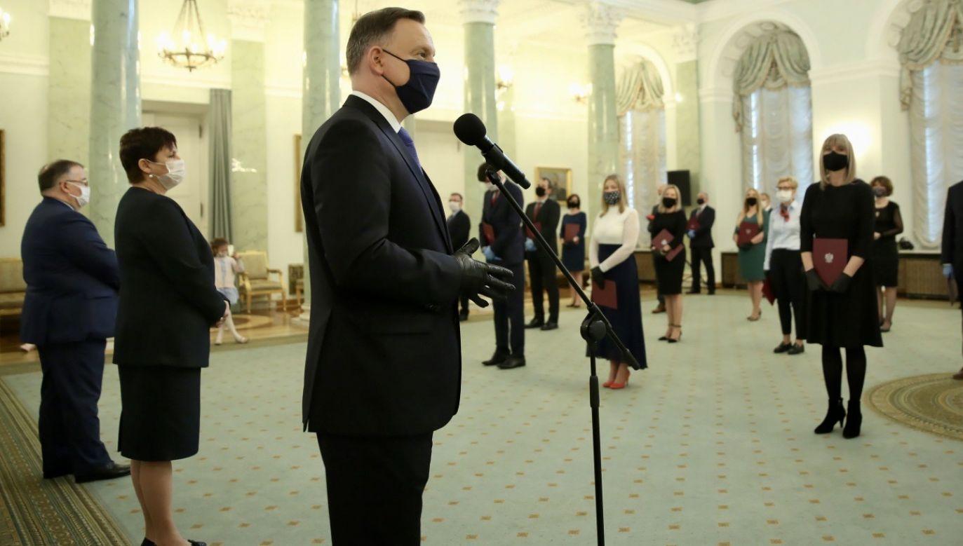 Portal tvp.info zapytał sędziego, jak z prawnego punktu widzenia oceniać należy racje senatorów opozycji, którzy zgłosili poprawkę do ustawy ws. wyborów prezydenckich (fot. KPRP/Krzysztof Sitkowski/PAP)