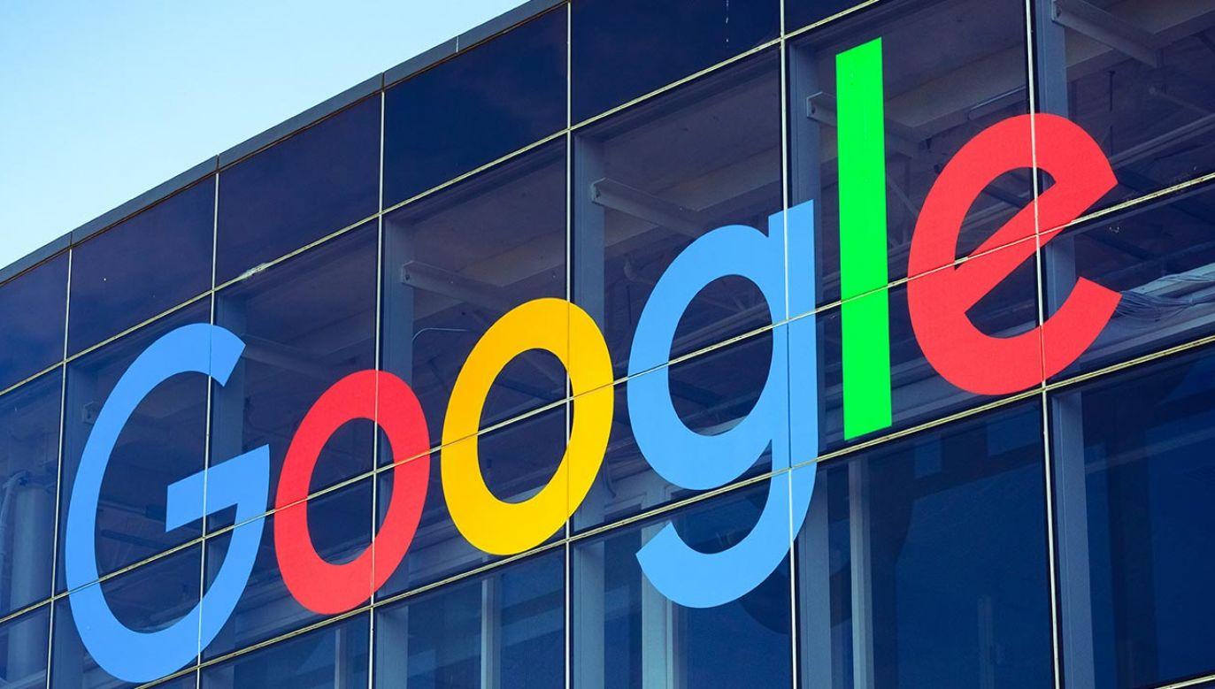 Google ukarany grzywną (fot. PAP/Radek Pietruszka)