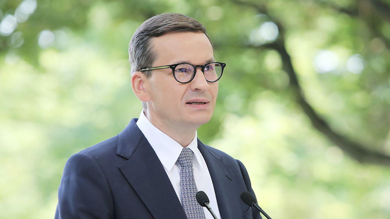 Premier Mateusz Morawiecki (fot. PAP/Wojciech Olkuśnik)