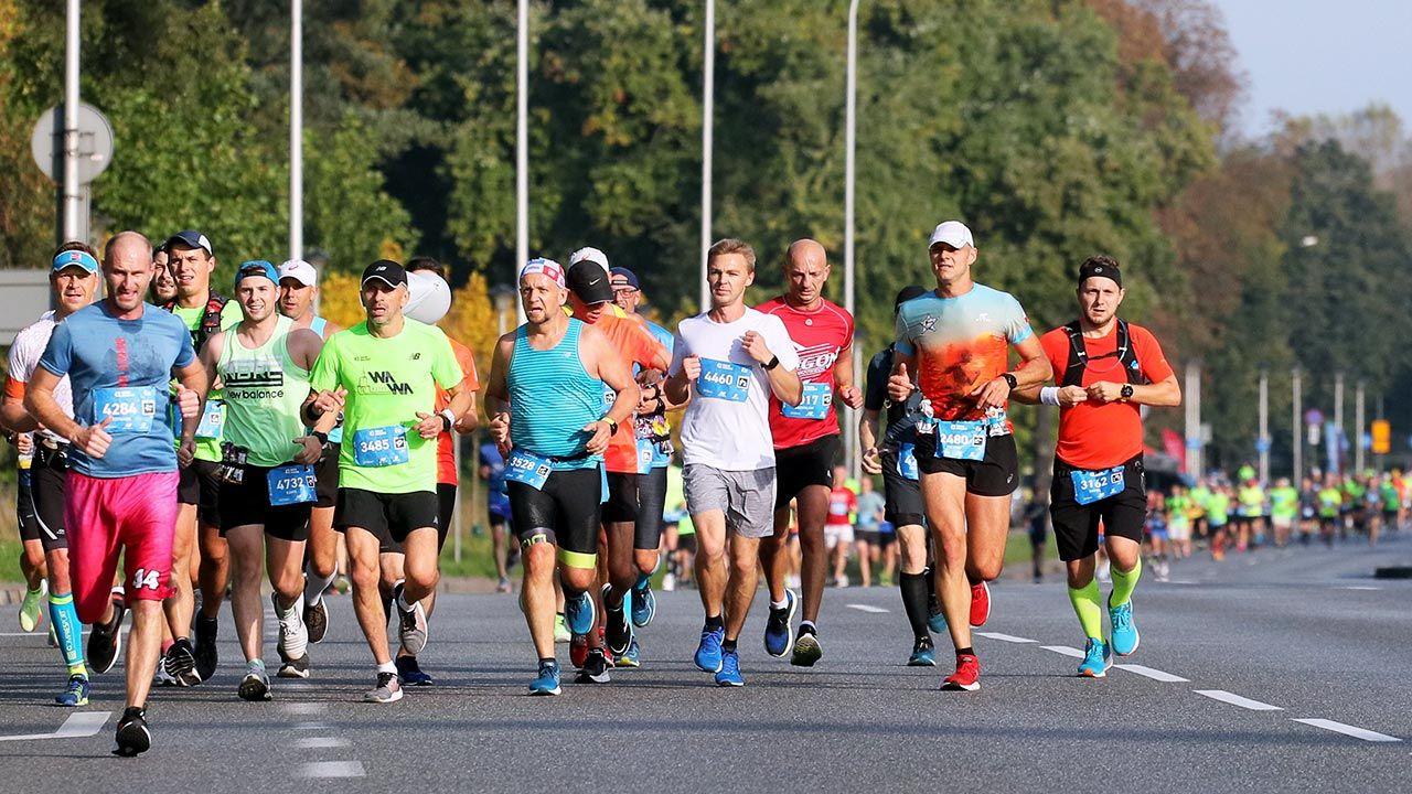 To 43. edycja najstarszego biegu w Polsce (fot. PAP/Paweł Supernak)