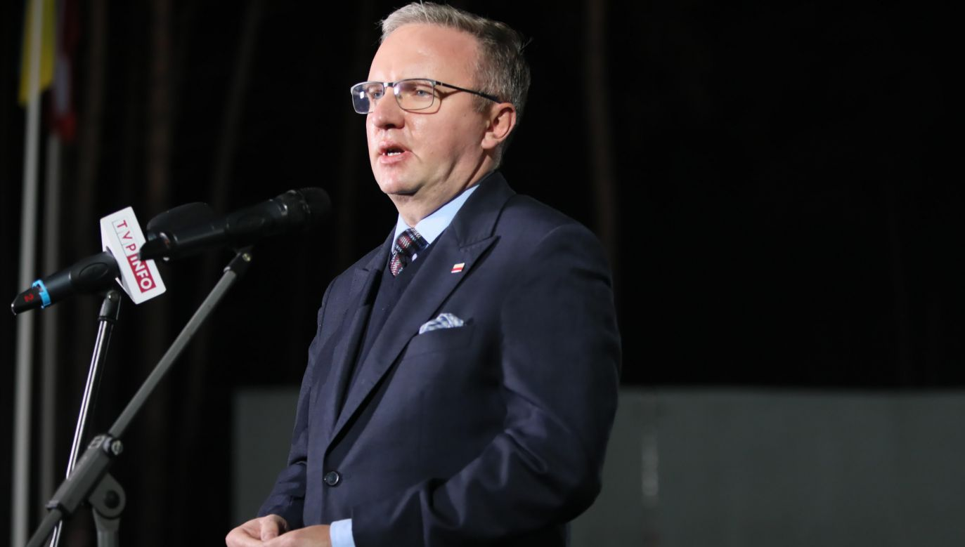 Krzysztof Szczerski, the Chief of Staff of the Polish President Andrzej Duda. Photo: PAP/Leszek Szymański
