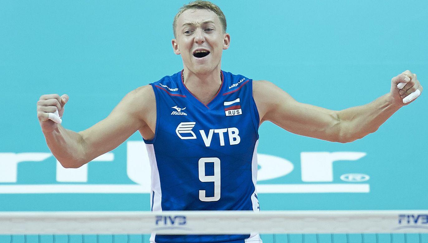 Aleksiej Spiridonow (fot.  Adam Nurkiewicz/Getty Images for FIVB)