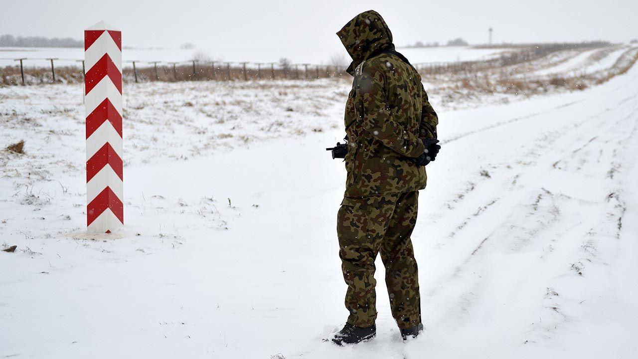 Wyziębionych  cudzoziemców zatrzymano w Pilźnie (fot. PAP/Darek Delmanowicz)