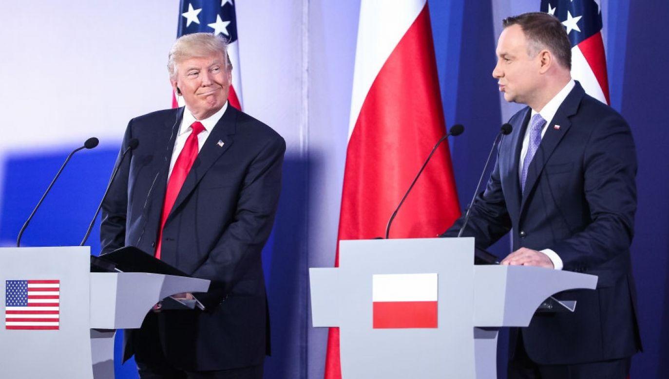24 czerwca prezydent Andrzej Duda będzie pierwszym, po epidemii koronawirusa przywódcą innego państwa, który odwiedzi Biały Dom (fot. Karol Serewis/Gallo Images Poland/Getty Images)