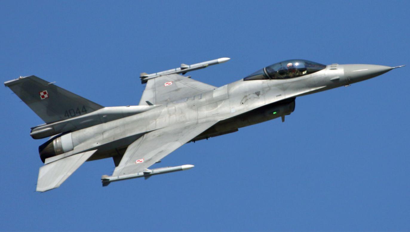 """Piloci F-16 odczytali bajki """"Wilk i człowiek"""" oraz """"Tchórzliwy diabeł"""" (fot. Wiki/Konflikty.pl)"""