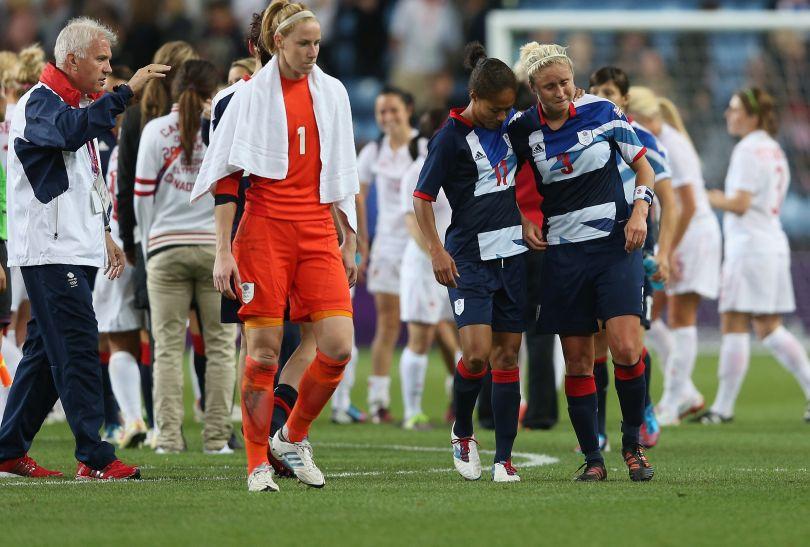Brytyjki liczyły na zwycięstwo w meczu z Kanadą (fot. Getty Images)