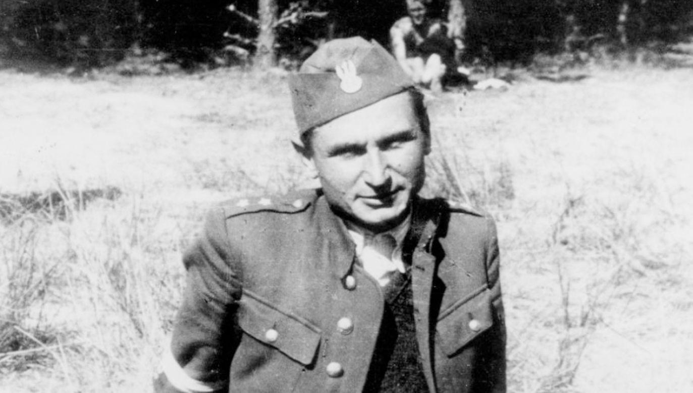 """Stanisław Sojczyński """"Warszyc"""" (fot. IPN)"""