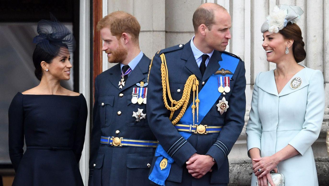 Harry z żoną nie będą uczestniczyli w żadnych przyszłych ceremoniach rodziny królewskiej (fot. PAP/ EPA/STR)