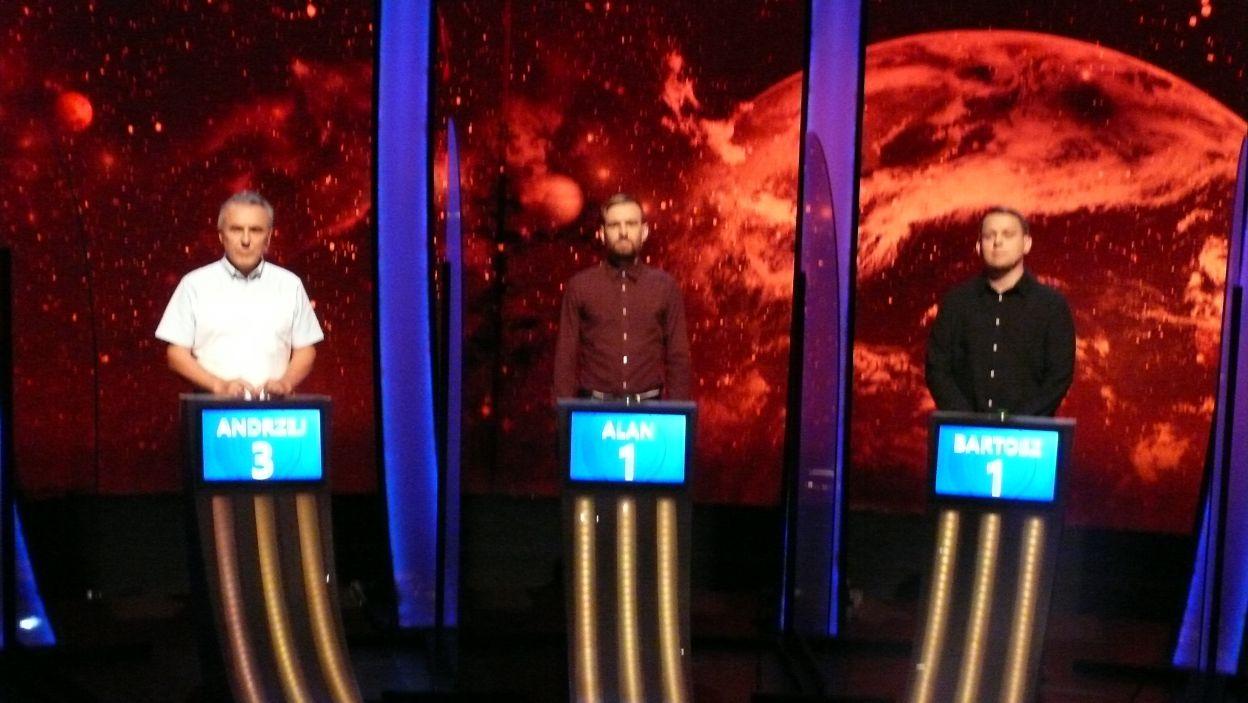Finałowa trójka zawodników 9 odcinka 123 edycji
