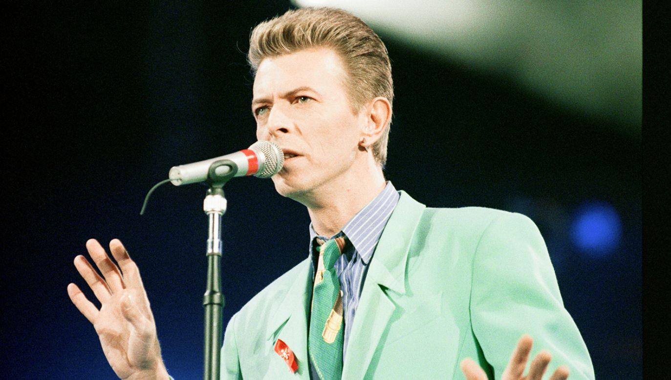 David Bowie (fot. Nigel Wright/Mirrorpix/Getty Images)