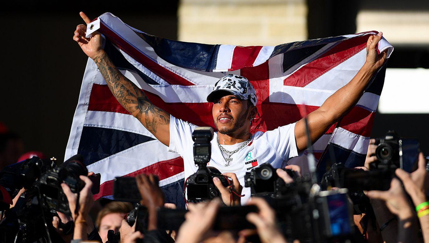 Lewis Hamilton po raz szósty został mistrzem świata Formuły 1 (fot. Clive Mason/Getty Images)