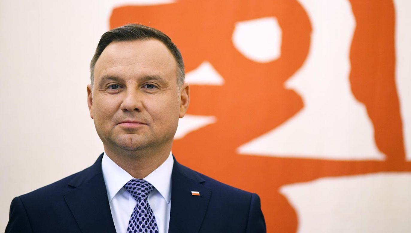 Andrzej Duda (fot. Forum/Adam Chelstowski)