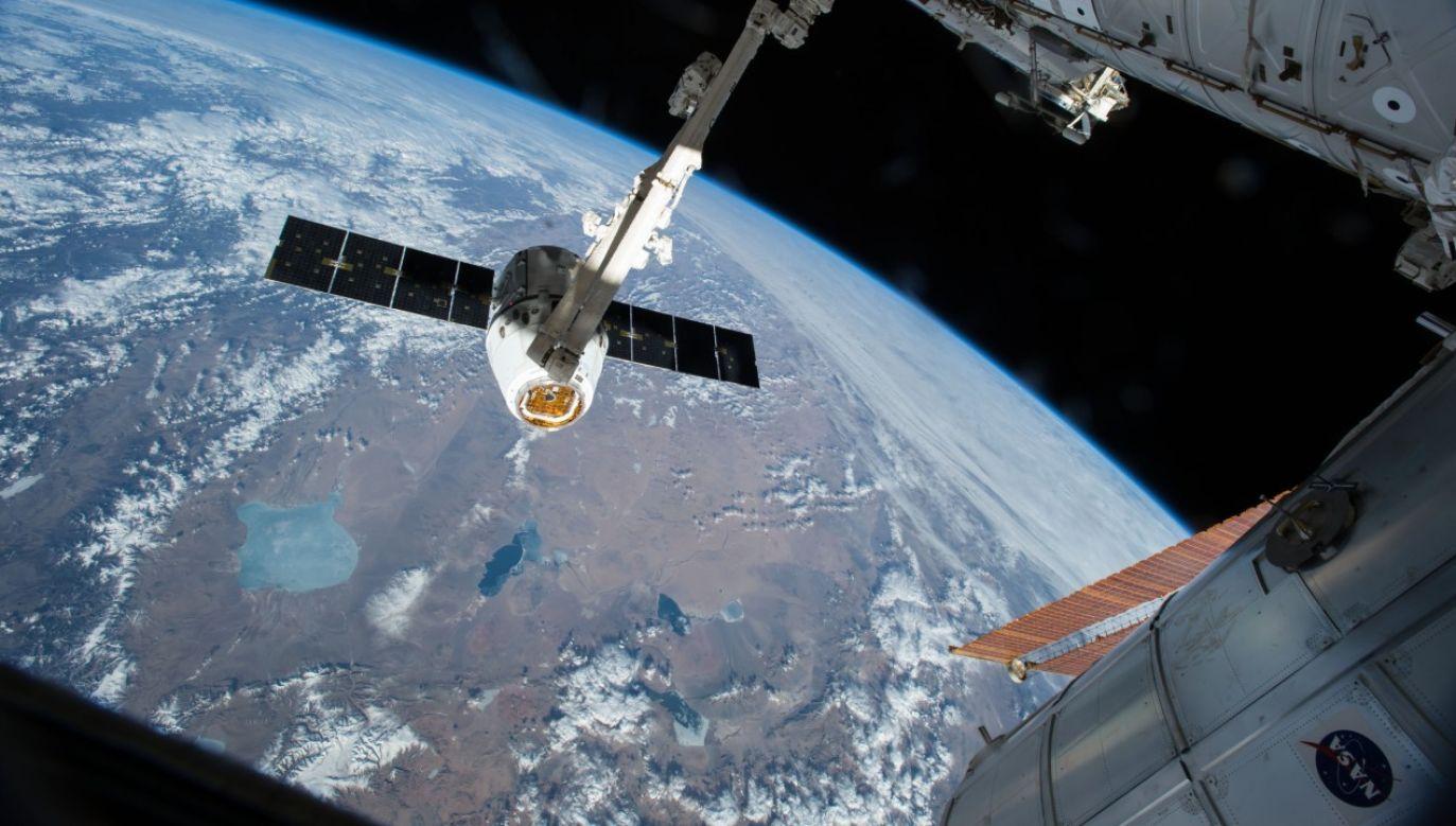 Kapsuła dostarczyła na ISS czworo astronautów (fot. NASA)