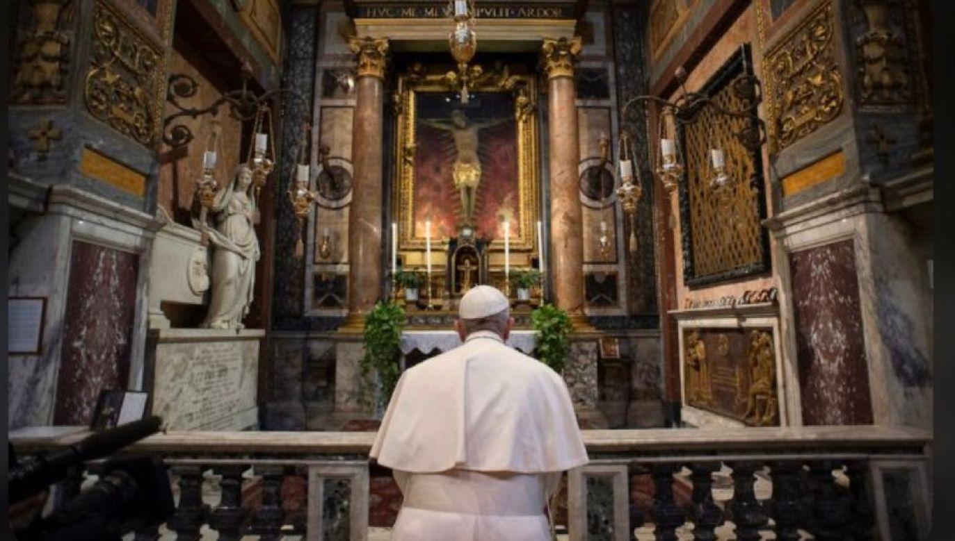 Krzyż świętego Marcelego trafi do Watykanu (fot. TT/Magdalena Wolińska-Riedi)