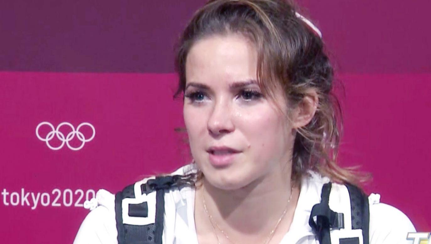 Maria Andrejczyk zdobyła srebrny medal olimpijski (fot. TVP)