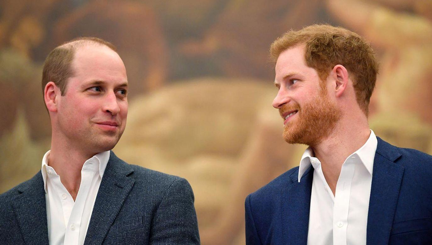 Książę William i książę Harry (fot. Toby Melville - WPA Pool/Getty Images)