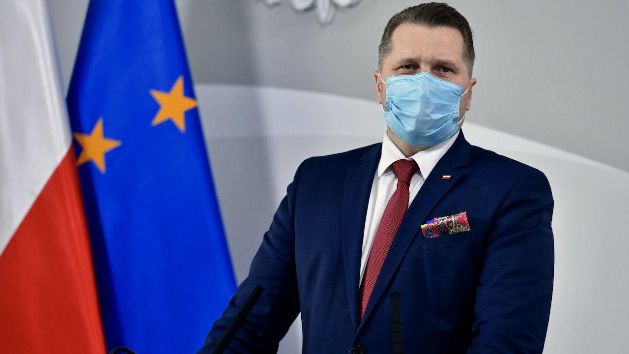 Czarnek zabrał głos ws. odznaczenia dyrektora liceum z Łodzi (fot. PAP/Piotr Nowak)