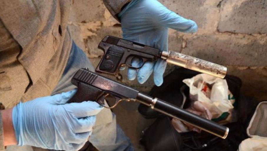 Broń gangu (fot. CBŚP)
