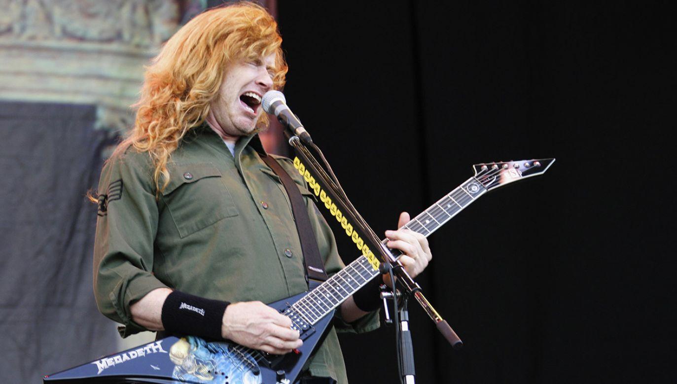 """""""Megadeth wróci na trasę tak szybko jak to możliwe"""" – podkreśla Mustaine (fot. Dave Etheridge-Barnes/Getty Images)"""