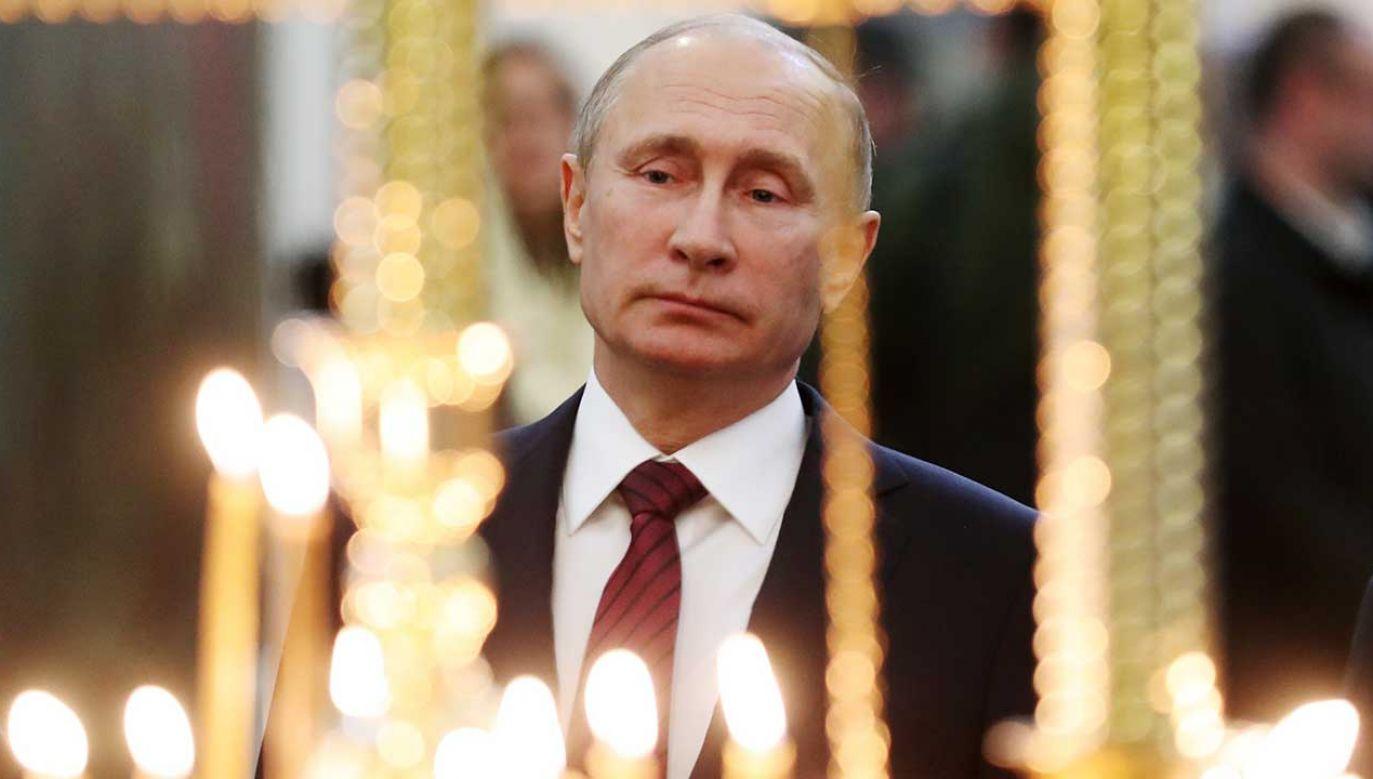 """Aleksandr Gabyszew uważał prezydenta Putina za reprezentanta """"ciemnych sił"""" (fot. Valery Sharifulin\TASS\Getty Images)"""