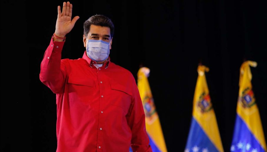 Próba obalenia Nicolasa Maduro nie powiodła się (fot. PAP/EPA/MIRAFLORES PRESS / HANDOUT)