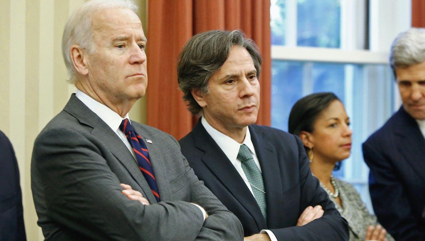 Joe Biden i Antony Blinken (fot. REUTERS/Jonathan Ernst)