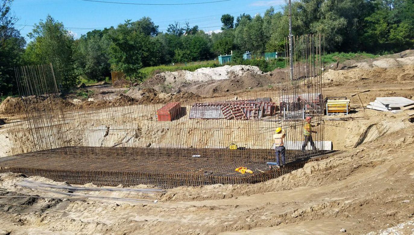 Od października 2018 r. w ramach Via Baltica – trwa budowa tzw. drugiej jezdni już istniejącej obwodnicy Szczuczyna (fot. GDDKiA)