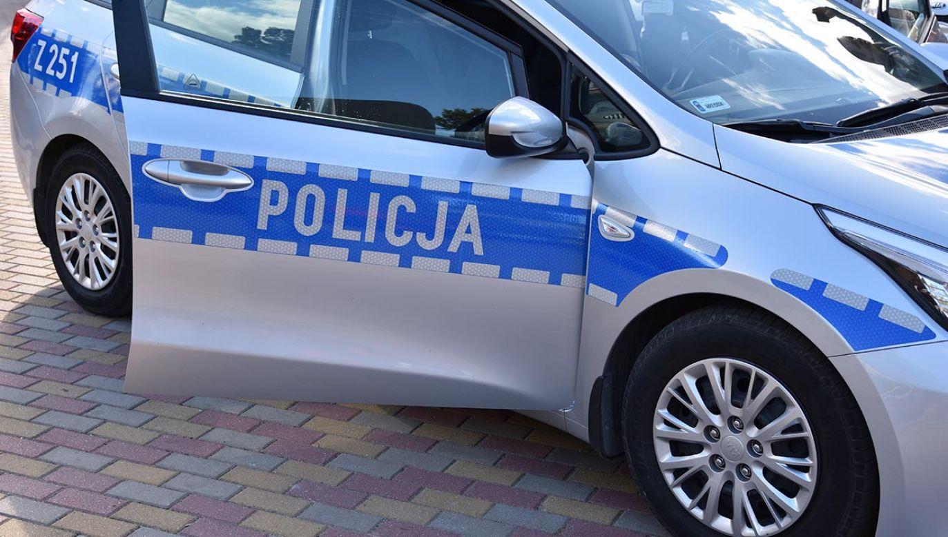 Autem kierowała Polka, która została zatrzymana (fot. Shutterstock)