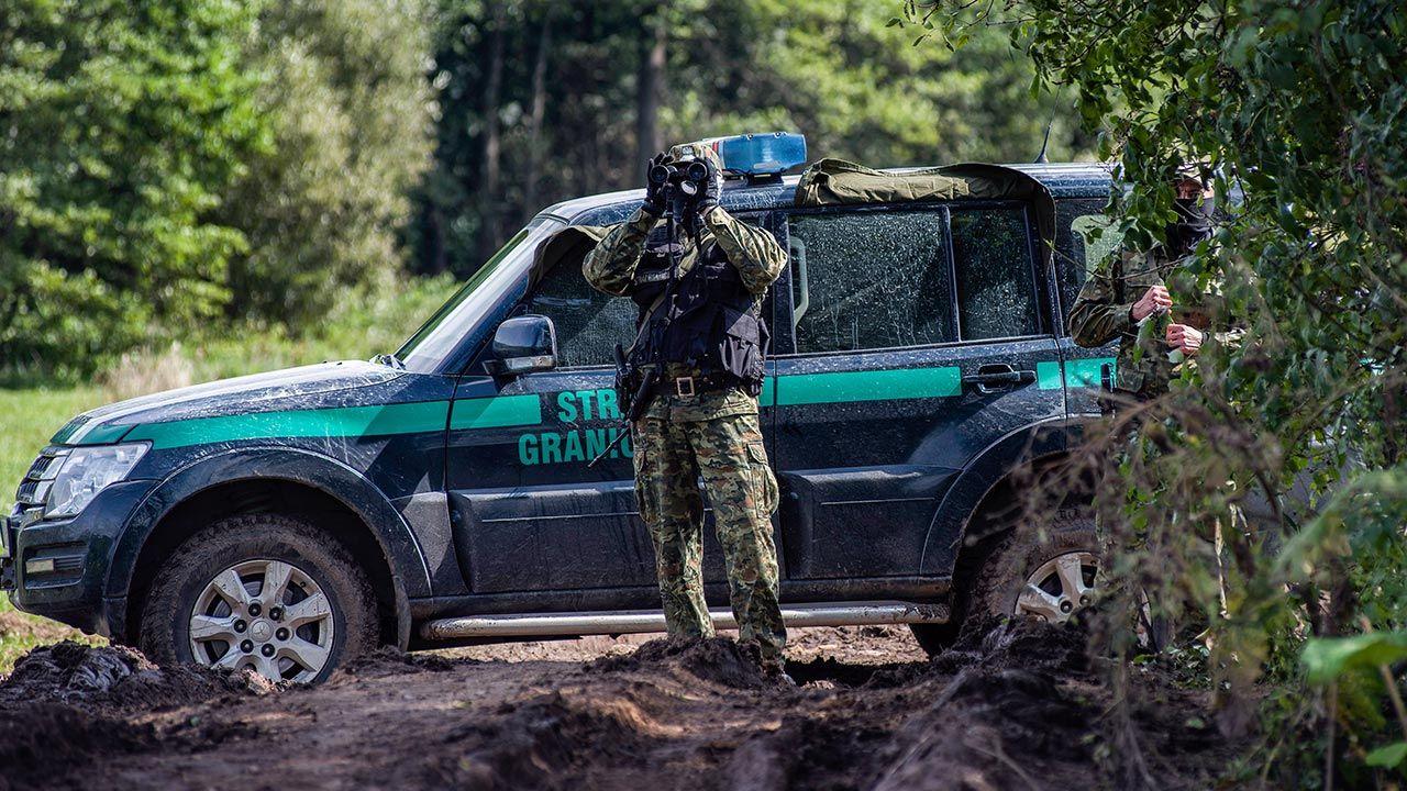 Strażnicy graniczni odnotowali 238 prób nielegalnego przekroczenia granicy (fot. Attila Husejnow/SOPA Images/LightRocket via Getty Images)