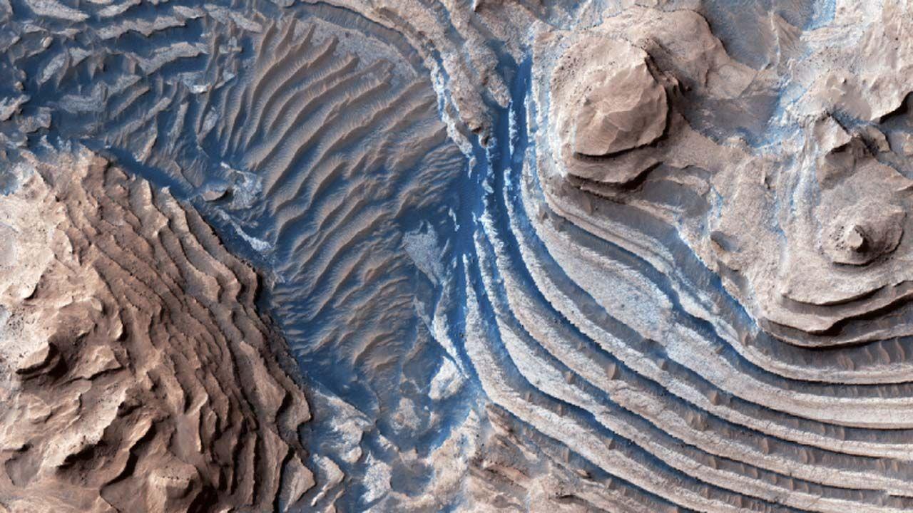 Wciąż nie wiadomo, jak powstał Valles Marineris (fot. University of Arizona/NASA)