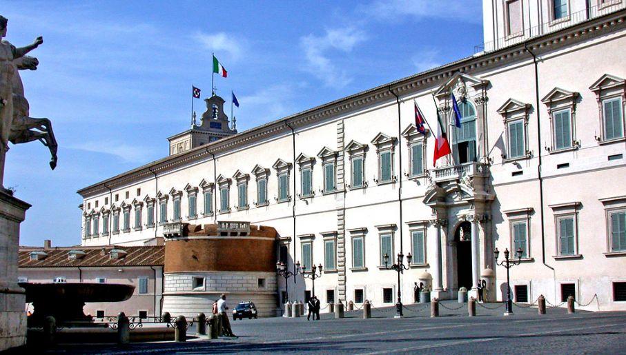 Pałac Prezydenta Republiki Włoch – Kwirynał (fot. Wkipedia)