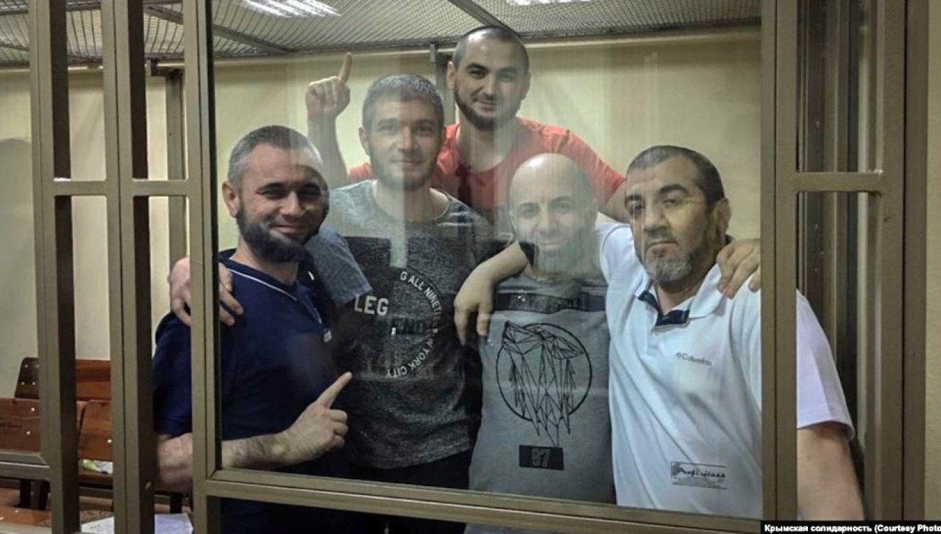 Aktywiści usłyszeli wyroki od 12 do 17 lat łagru (fot. TT/BOC Intel)
