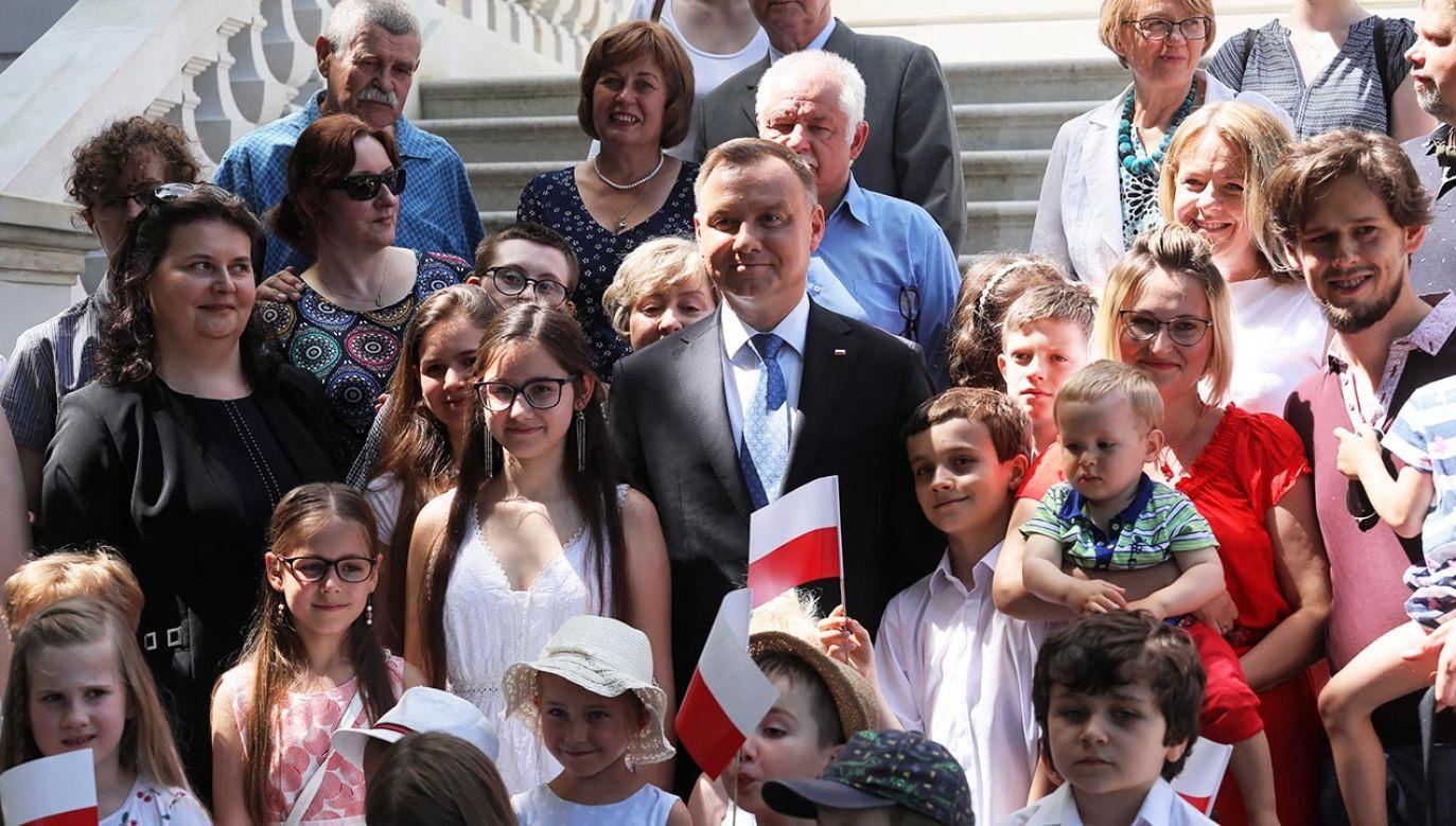 Prezydent chce ochrony rodziny (fot. PAP/Paweł Supernak)