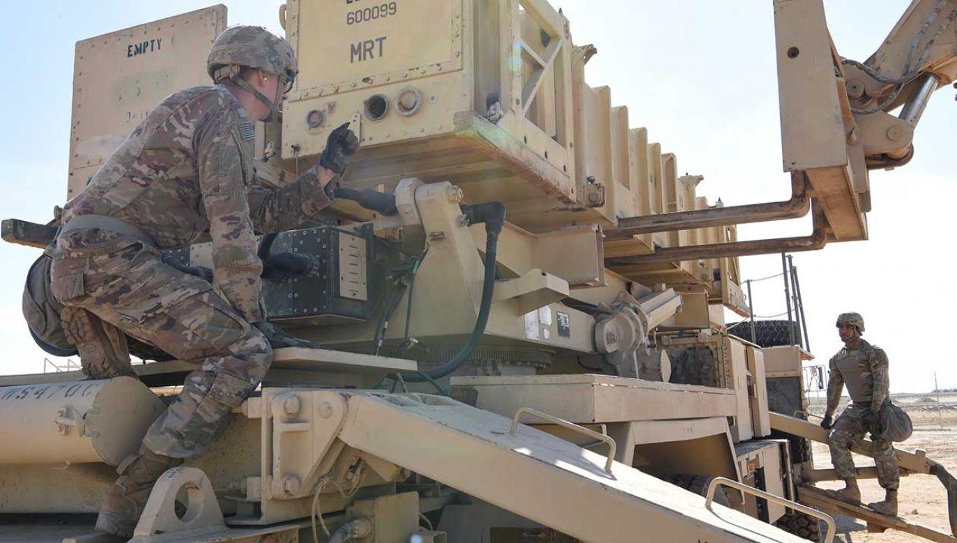 Patriot jest jednym z najbardziej popularnych systemów w krajach NATO (fot. REUTERS/ U.S. Air Force/Tech. Sgt. Darnell T. Cannady)