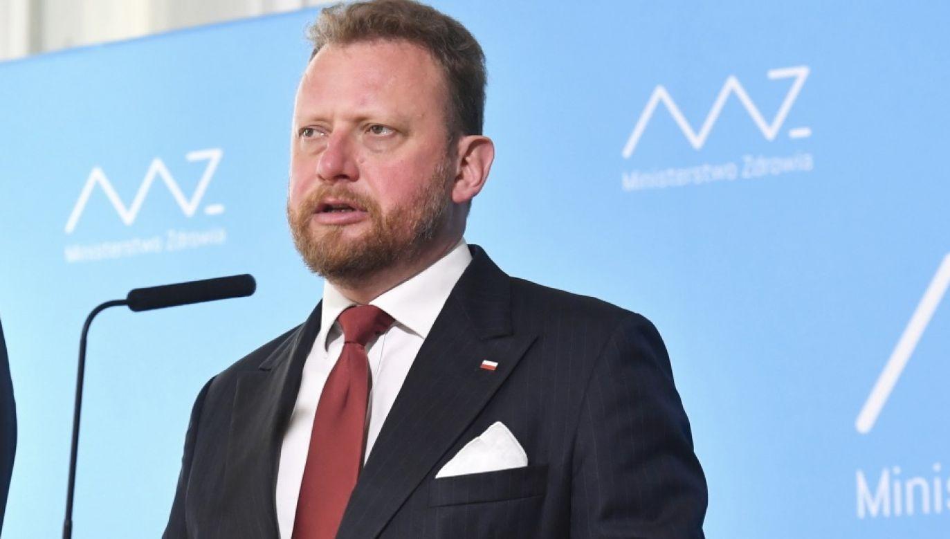 Szumowski zapewnił, że cały czas pozostaje w kontakcie z prokuraturą (fot. PAP/Piotr Nowak)