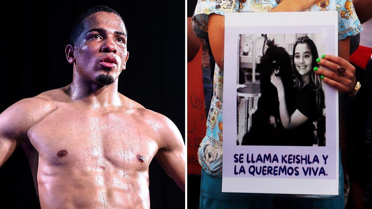 Felix Verdejo nie chciał, by jego kochanka urodziła? (fot. Mikey Williams/Top Rank via Getty Images; PAP/EPA/Thais Llorca)