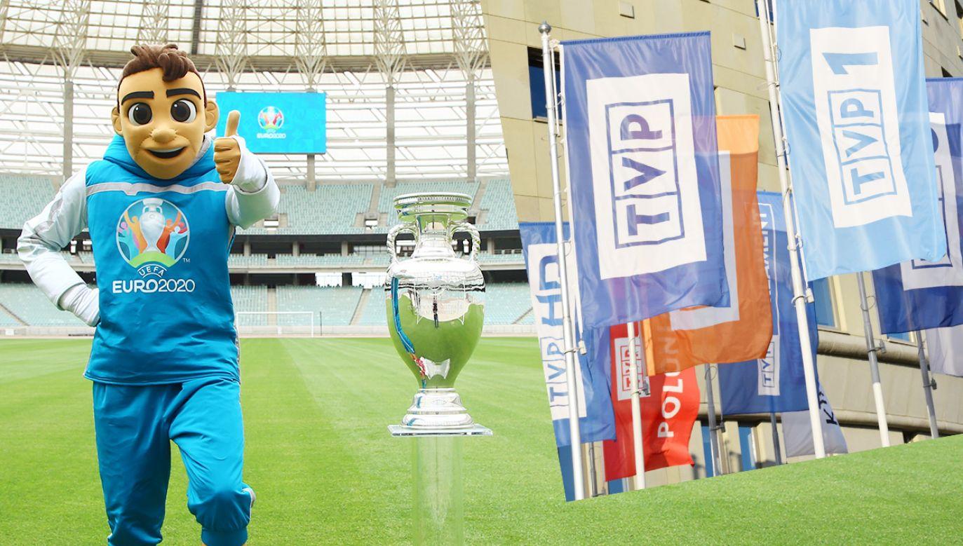 Telewizja Polska pokaże wszystkie mecze rozpoczynających sięza miesiąc mistrzostw Europy (fot. Shutterstock; Getty Images)