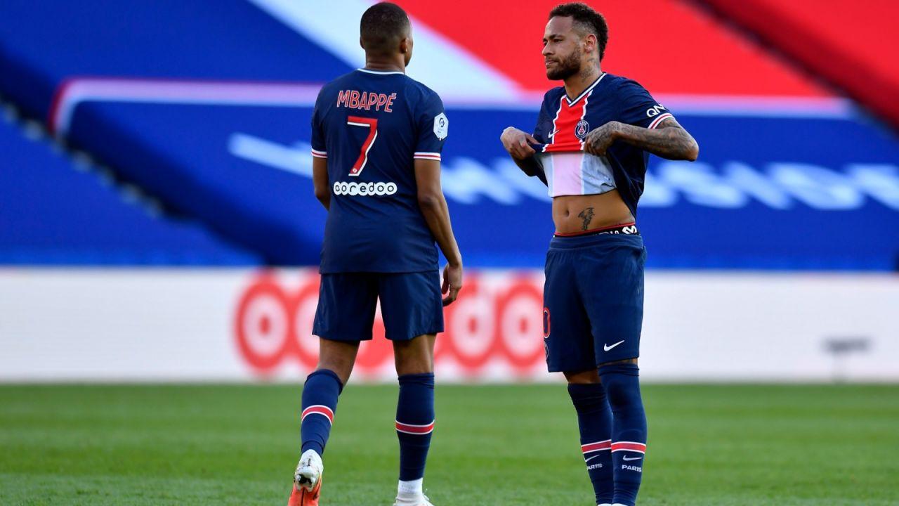 Liga Mistrzów. Bayern - PSG. Gdzie obejrzeć mecz? Czy zagra Neymar i Mbappe? Trudna relacja Neymara i Mbappe (sport.tvp.pl)