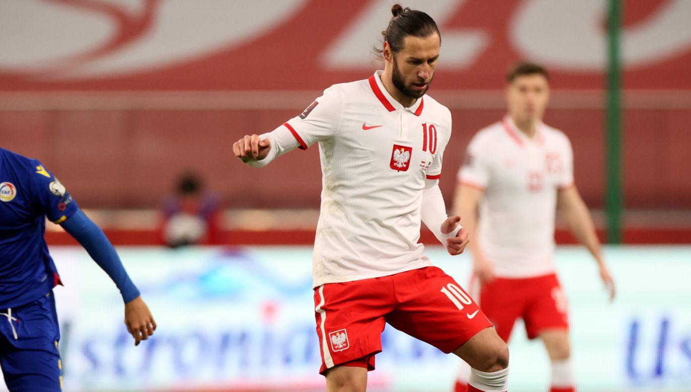 Grzegorz Krychowiak był jednym z najlepszych piłkarzy reprezentacji w starciach z Węgrami i Andorą (fot. PAP/Leszek Szymański)