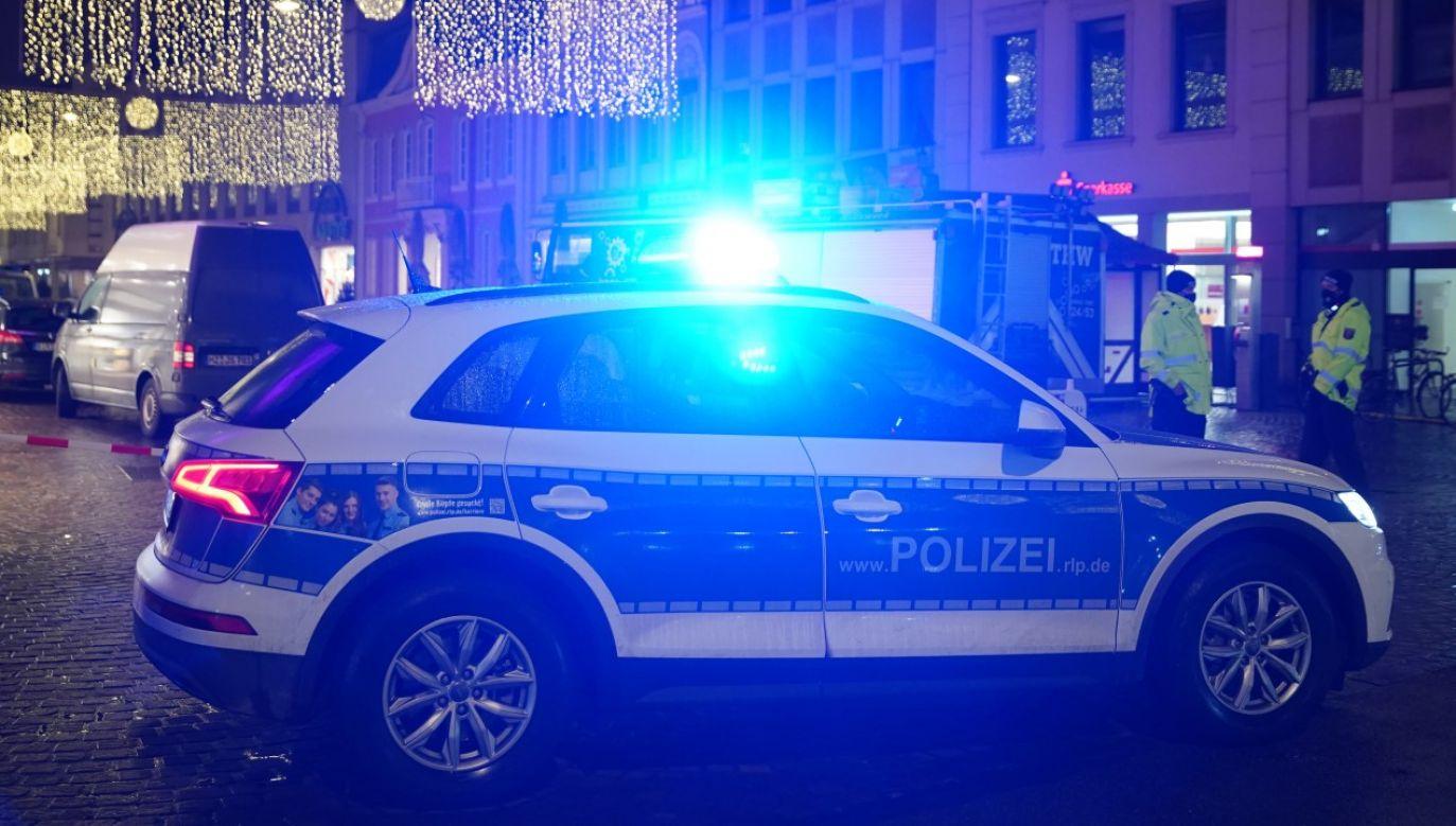 Do zamachu doszło we wtorek po południu na miejskim deptaku w Trewirze (fot. Andreas Schlichter/Getty Images)
