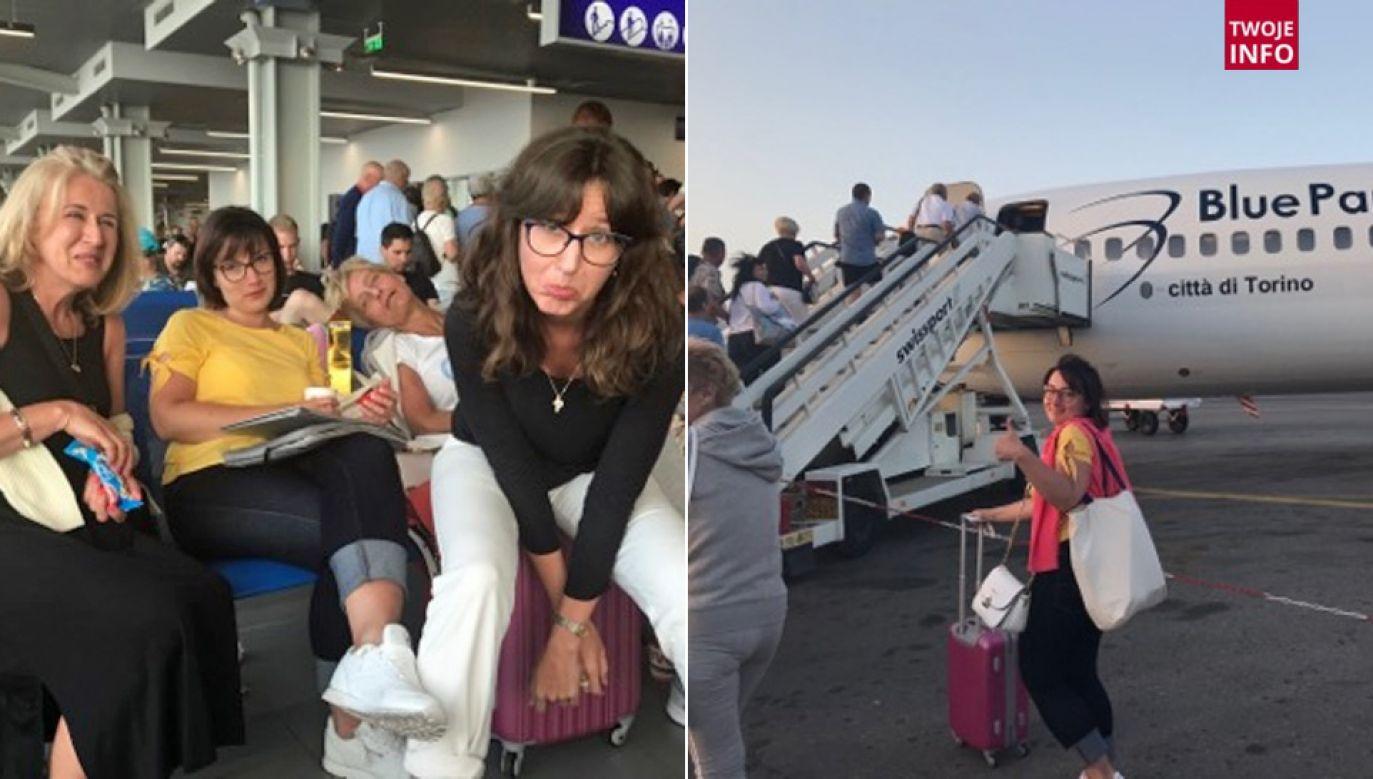 Samolot odleciał z kilkugodzinnym opóźnieniem (fot. Twoje Info)