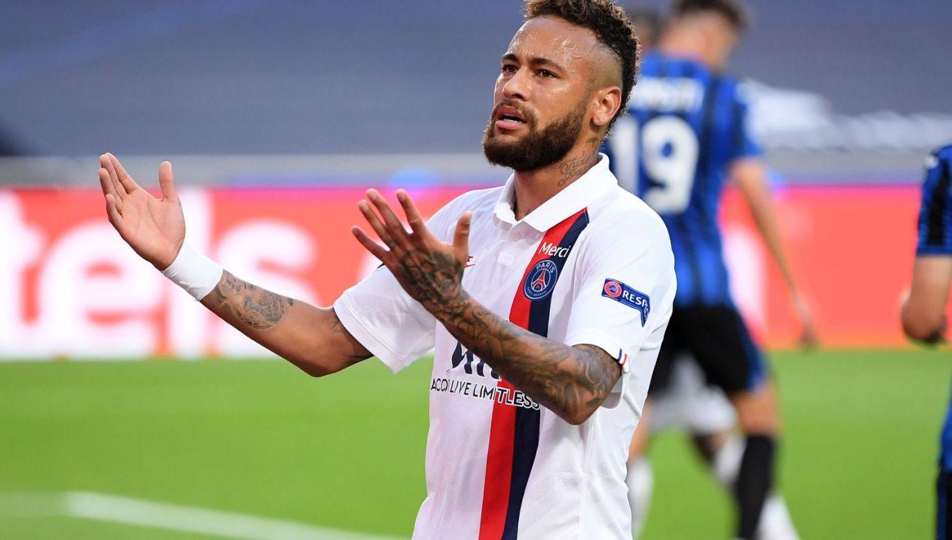 Neymar miał być liderem PSG w meczu z Atalantą (fot. Getty Images)