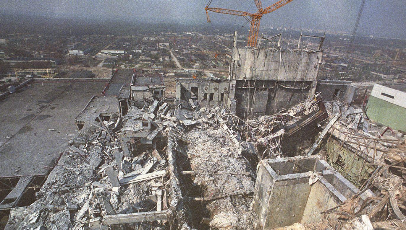 Władze ZSRR początkowo blokowały informacje o katastrofie  (fot. Igor Kostin/Sygma via Getty Images)