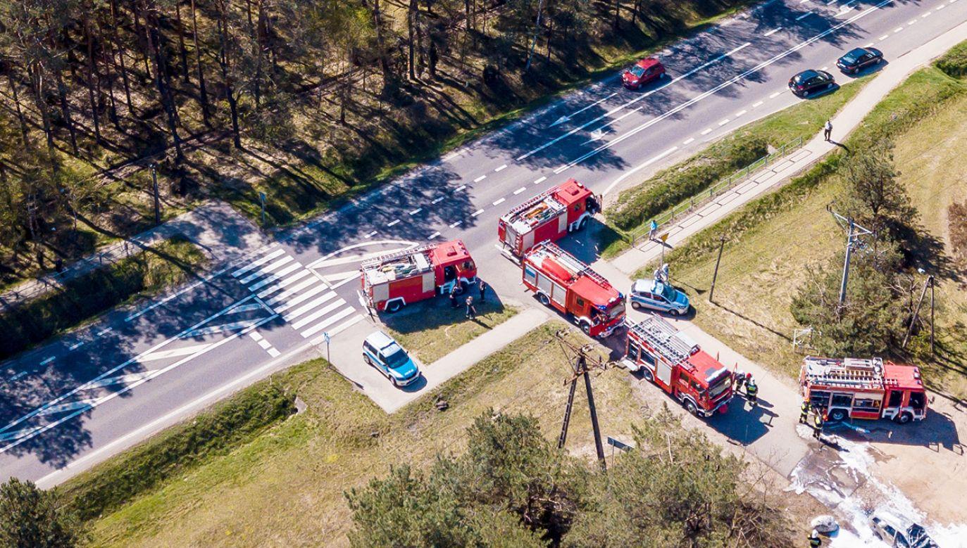 Zagrożenie pożarowe w Polsce (fot. Shutterstock)