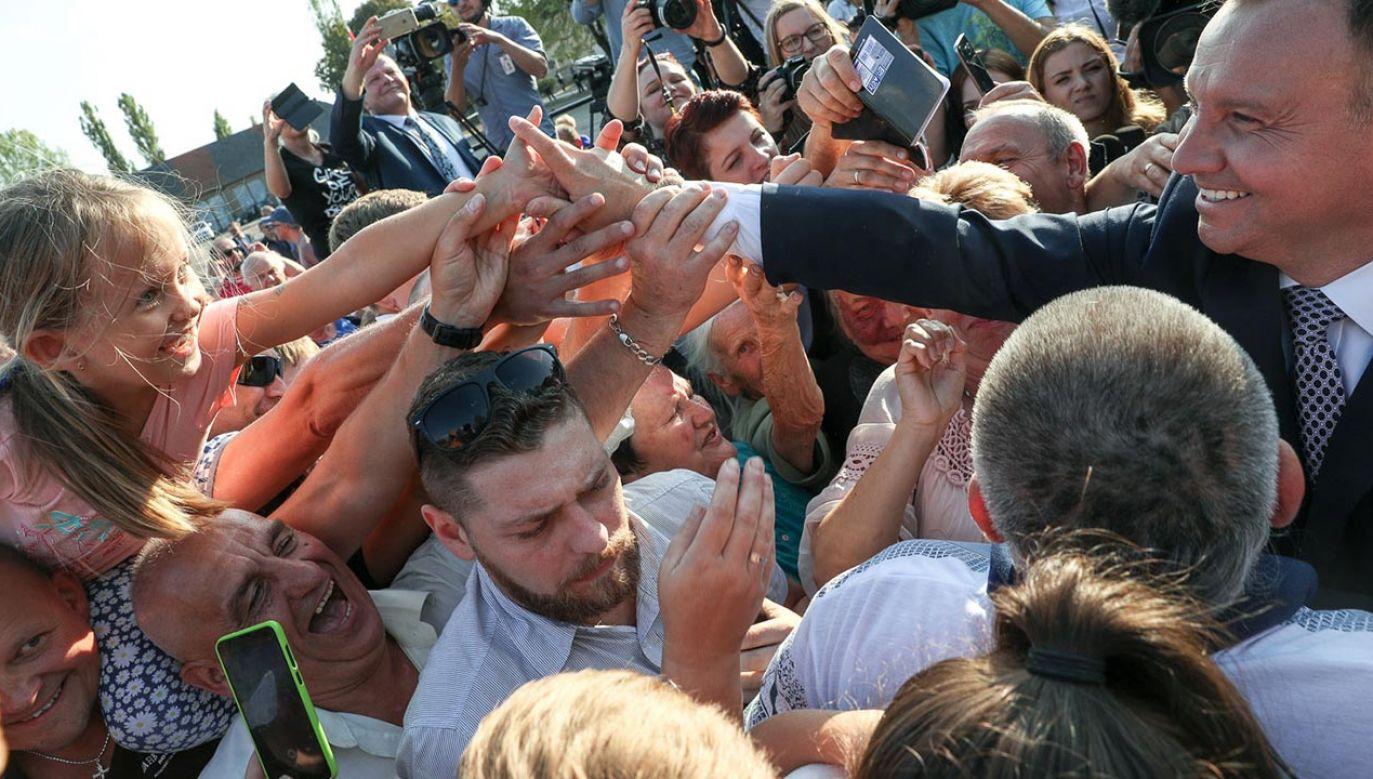 Fotografie wykonano w trakcie mijającej kadencji (fot. KPRP/Krzysztof Sitkowski)